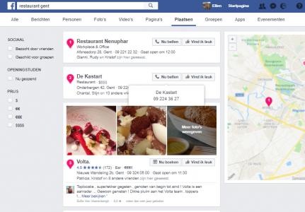 Is Facebook een zoekmachine?