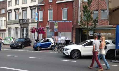 Beldekor NV en Group Ghistelinck leggen de handen samen op de braderie in Harelbeke